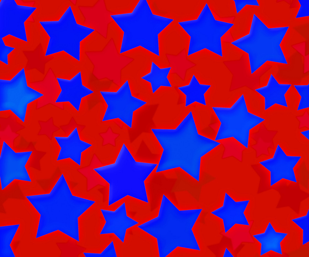 Abstract Usa Stars Background