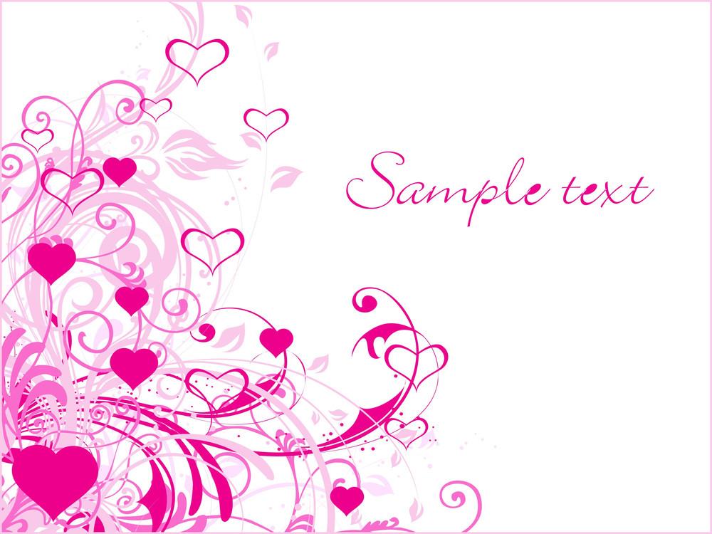 Abstract-valentine Banner