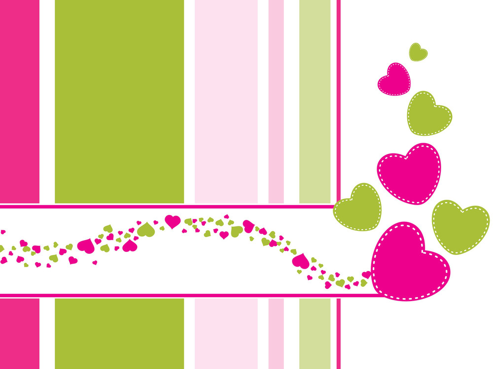 Abstract-valentine Card