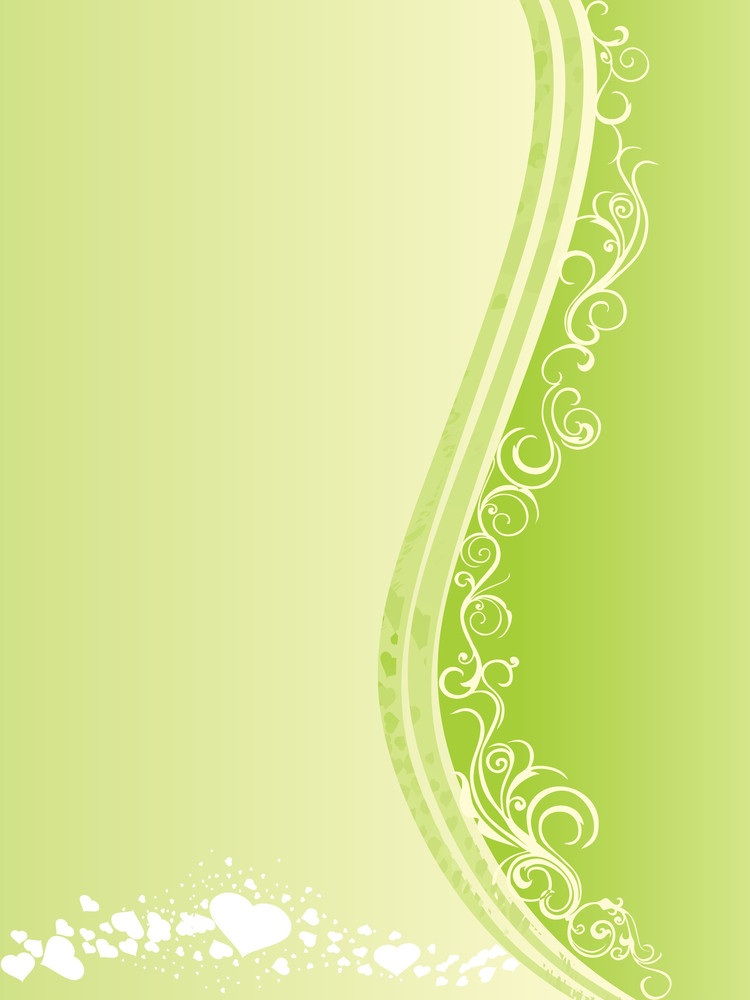 Abstract Valentine Vector Banner