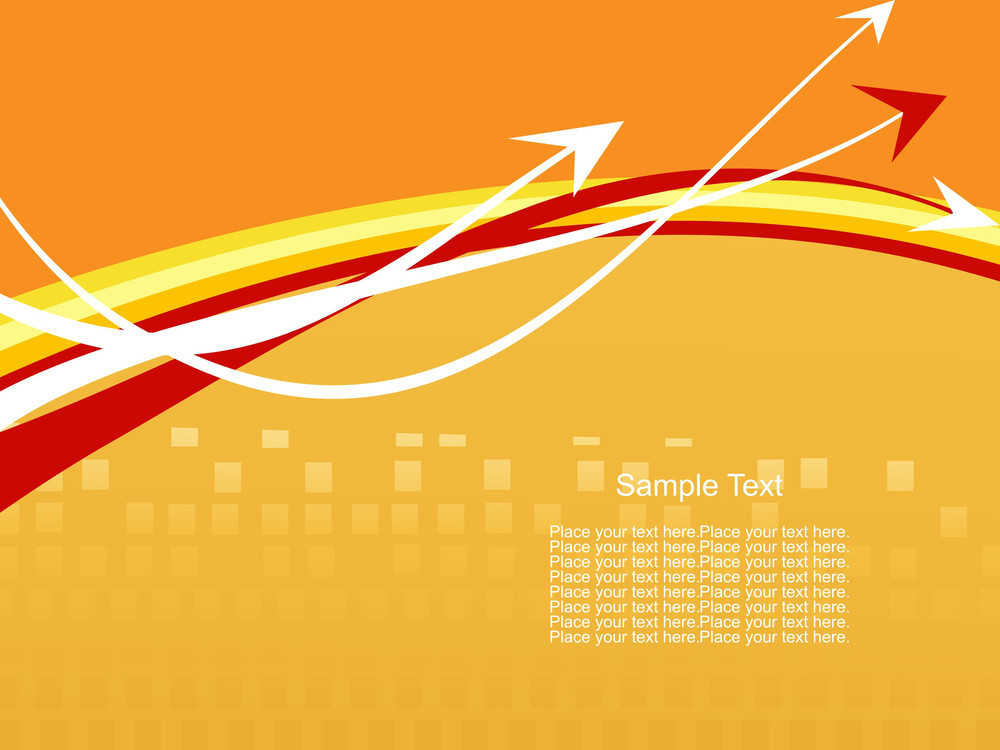 Abstract Vector Arrow Background