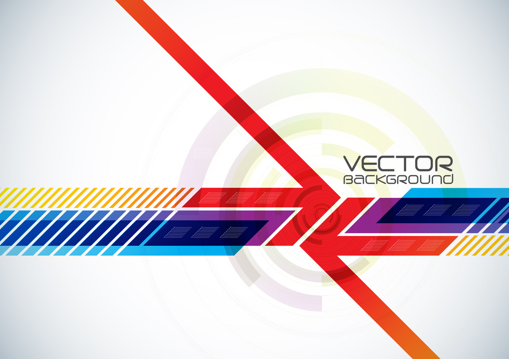 Abstract Vector Digital Background