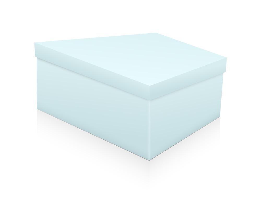 Abstract Vintage Box Shape Design