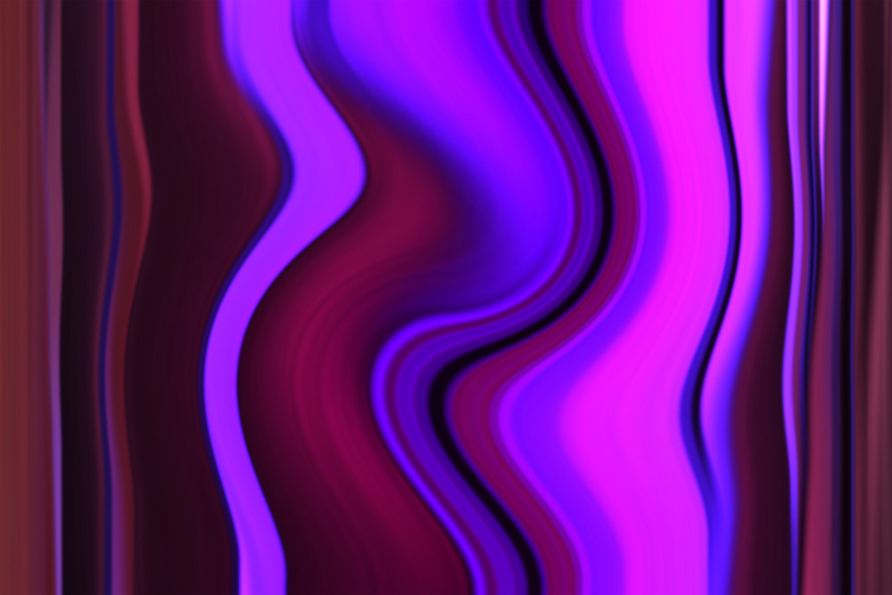 Abstract Violet Wave Background.