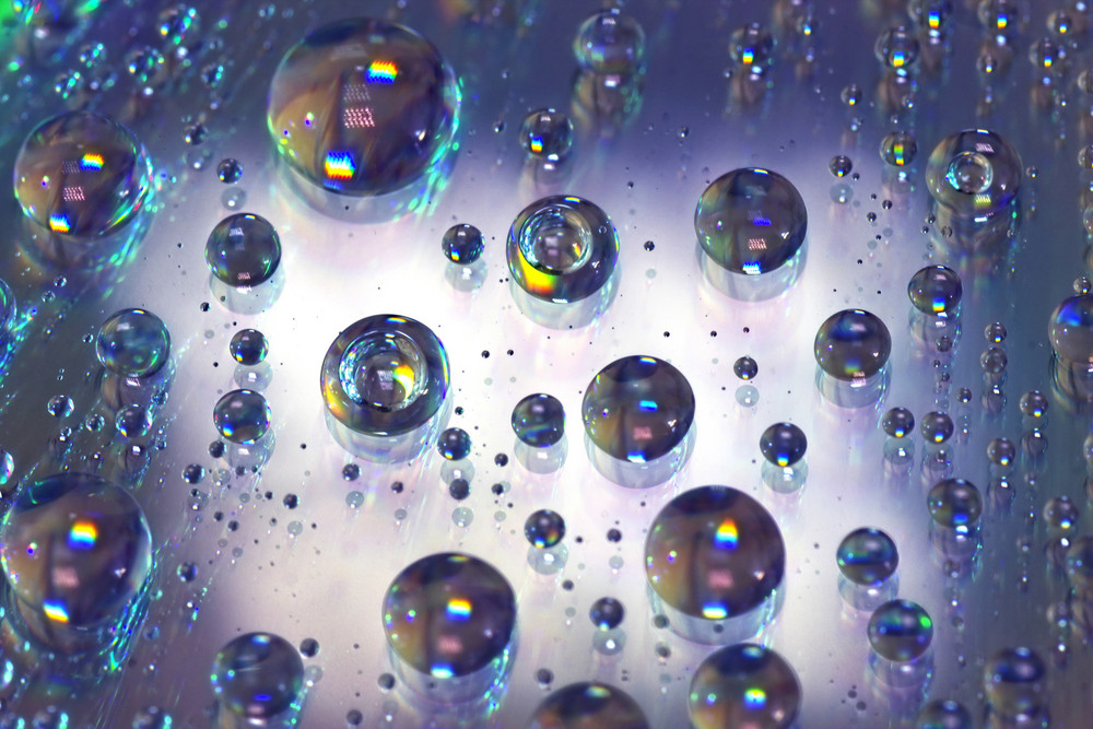 Abstract Water Bubbles