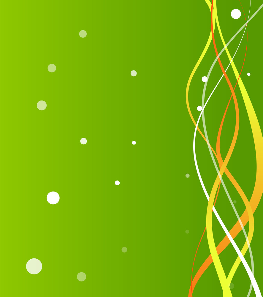 Abstract Wave Lines Bokeh Background