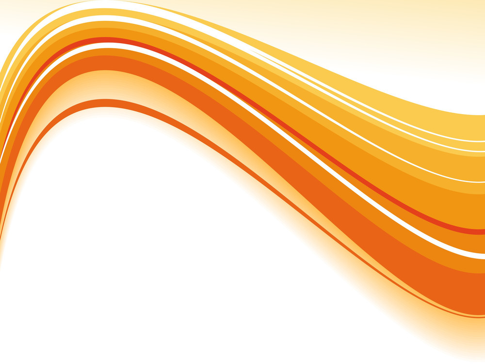 Abstract Wavy Background Illustration