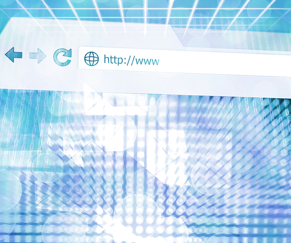 Abstract Web Future Science Background Texture