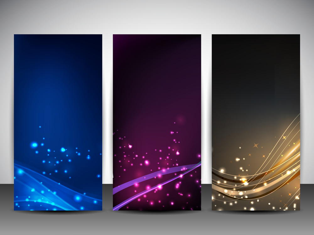 Abstract Website Banner Set