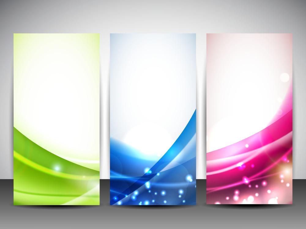 Abstract Website Banner Set