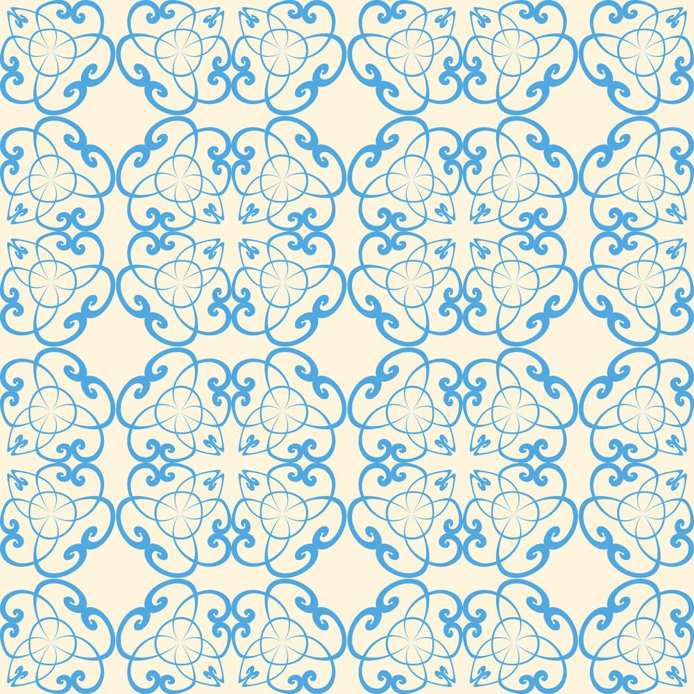Abstrat Vintage Seamless Pattern. Vector Illustration