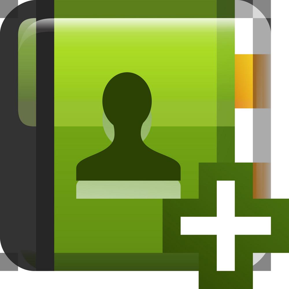 Add Contact Tiny App Icon