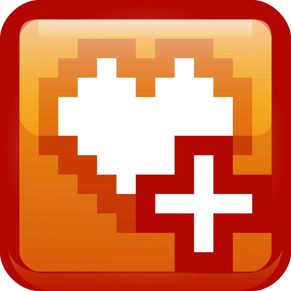 Add Favorite Orange Tiny App Icon