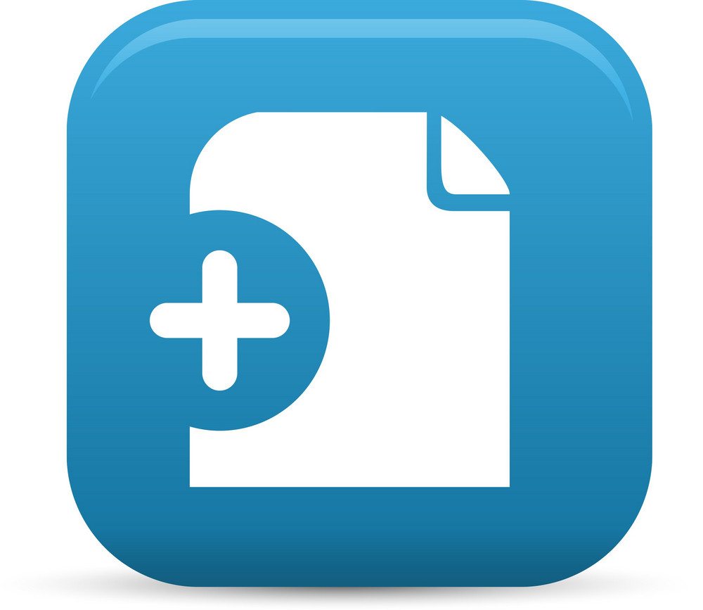 Add File Elements Lite Icon Royalty-Free Stock Image