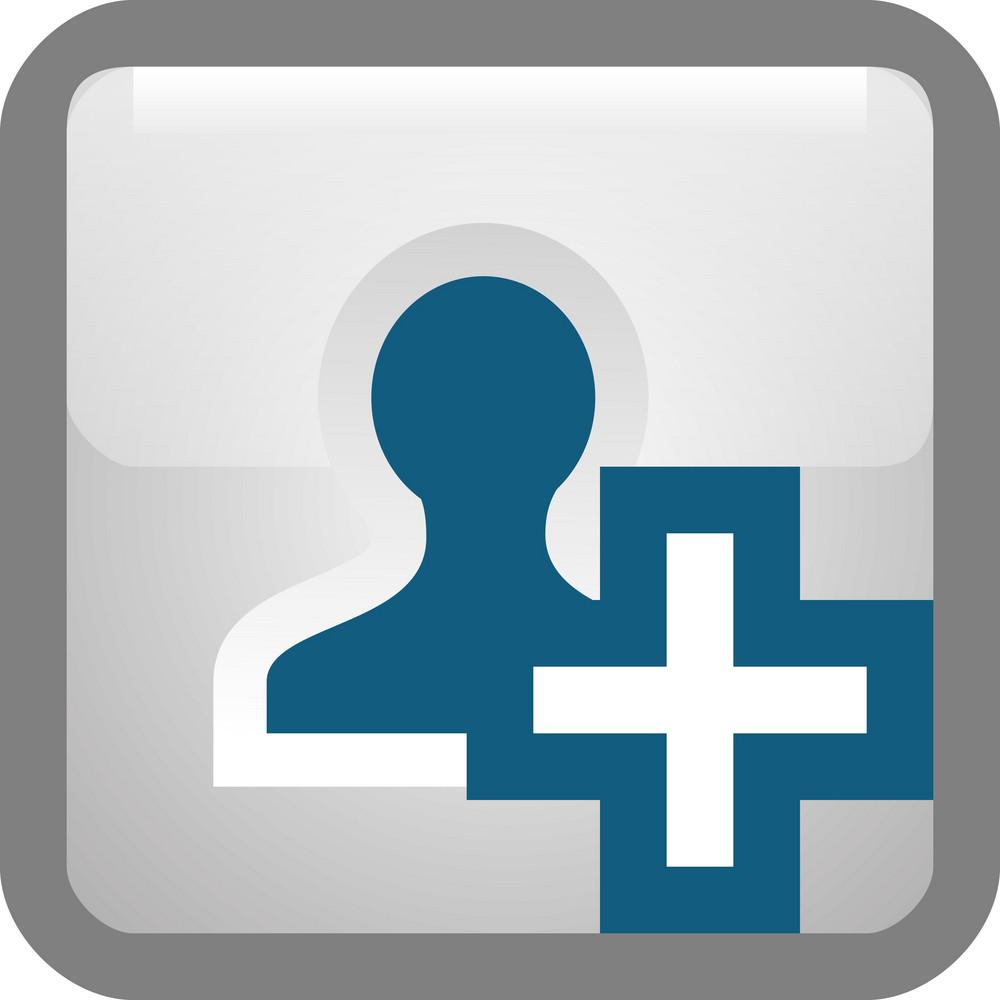 Add Person Tiny App Icon