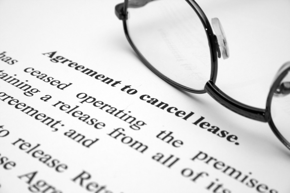 Agreement To Cancel Lease Royalty Free Stock Image Storyblocks