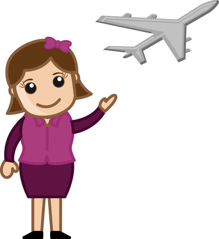Airlines - Cartoon Vector