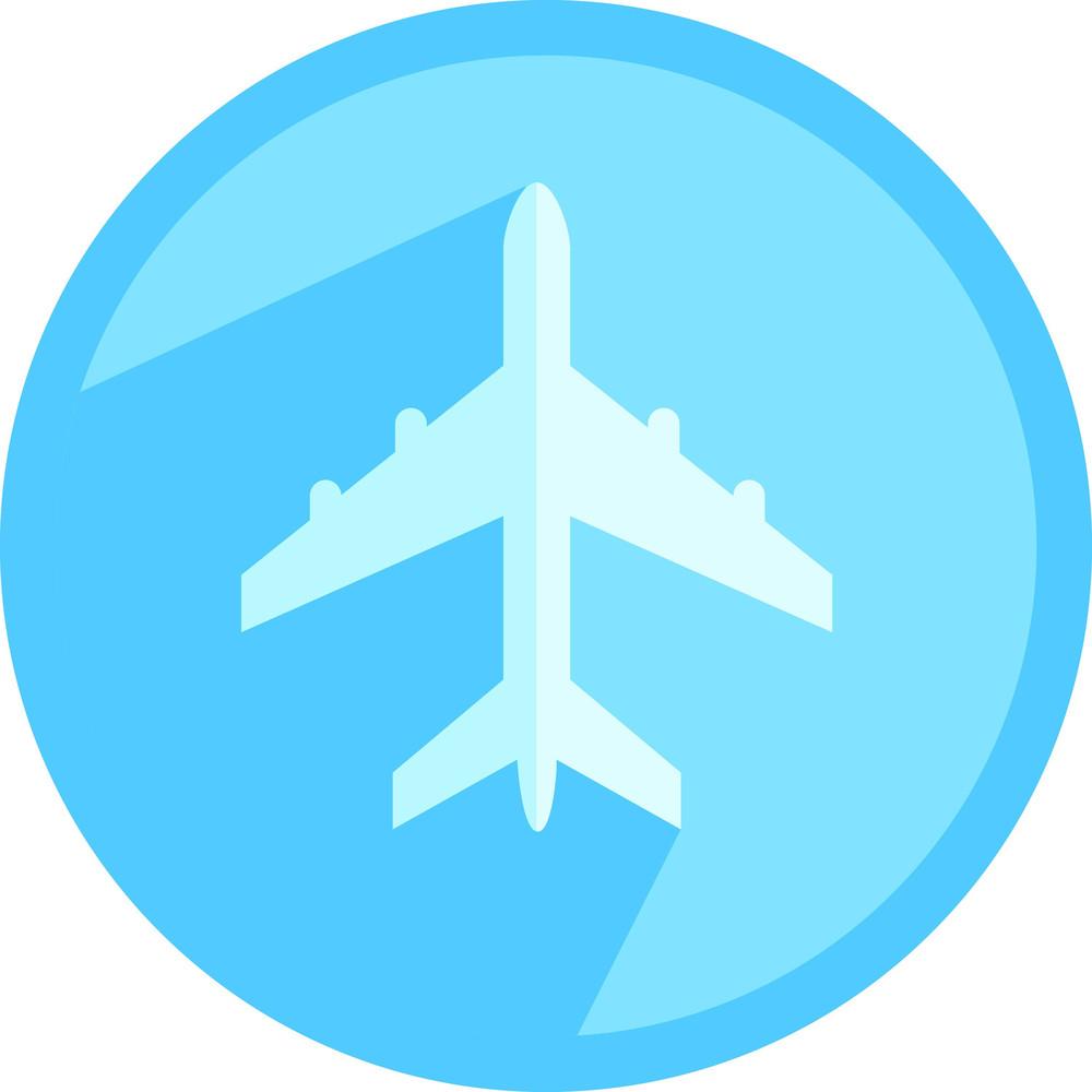Airplane Travel Icon