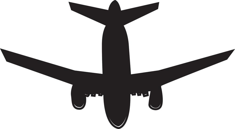 Airplane Vector Element