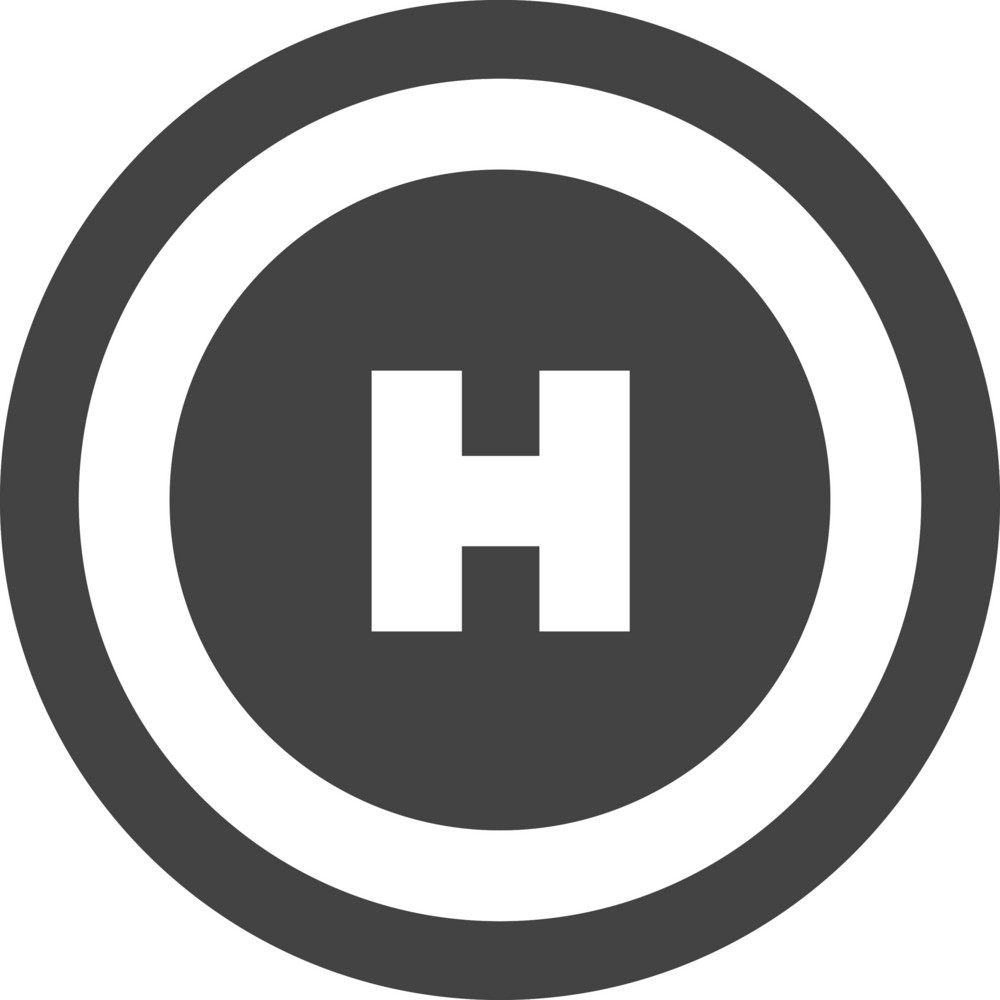 Airport 1 Glyph Icon