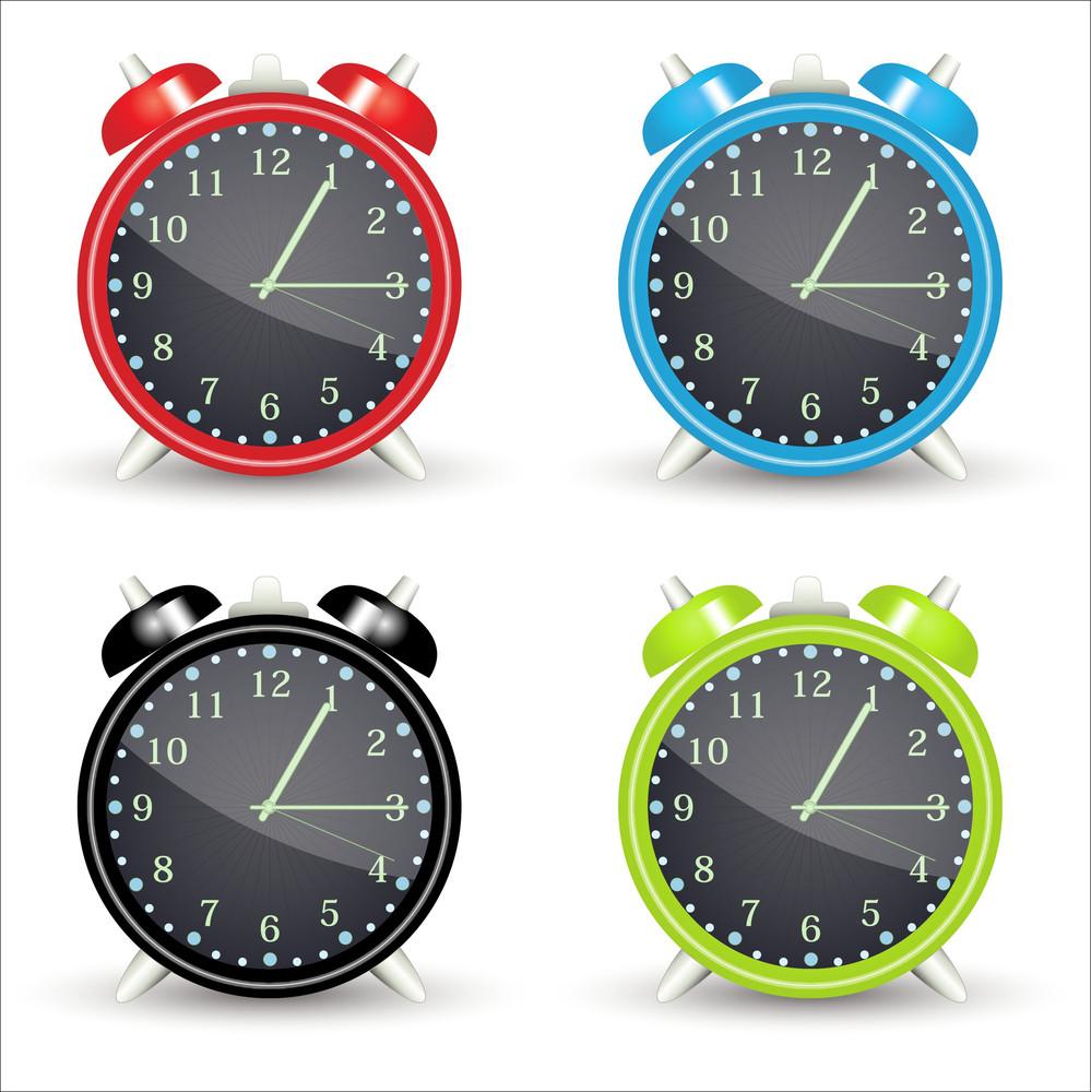 Alarm Clocks Vectors