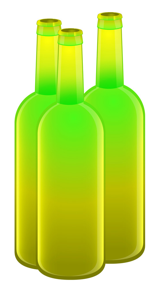 Alcohol Bottles Vectors
