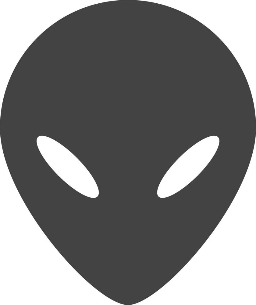 Alien Glyph Icon