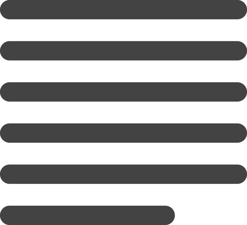 Align Left 2 Glyph Icon