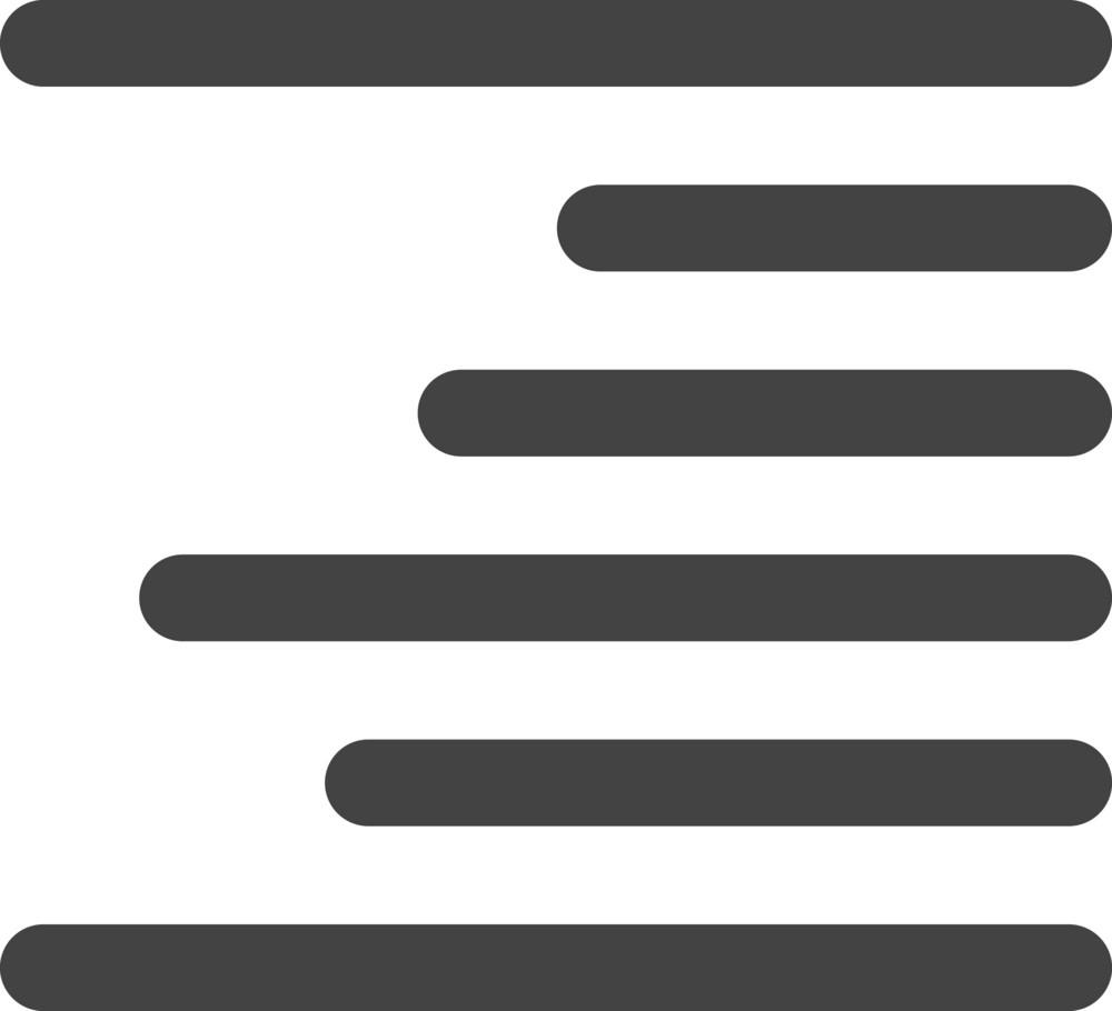 Align Right 1 Glyph Icon