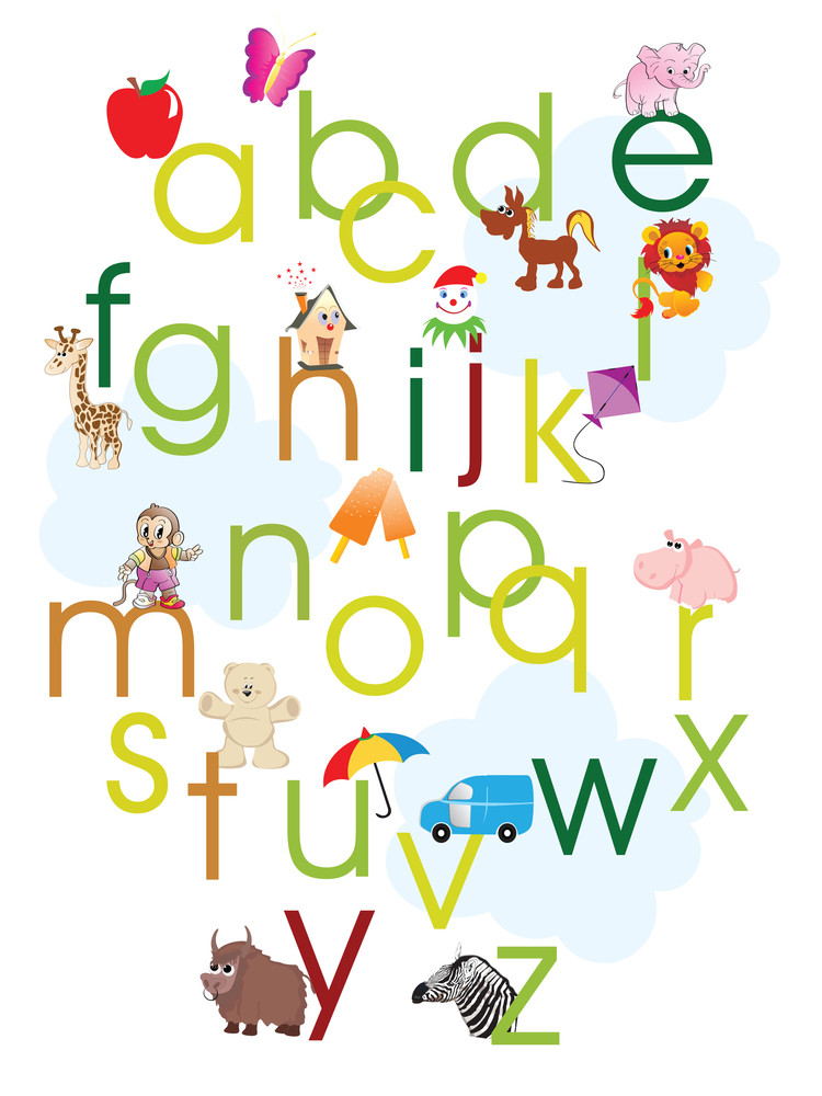 Alphabet Concept Background