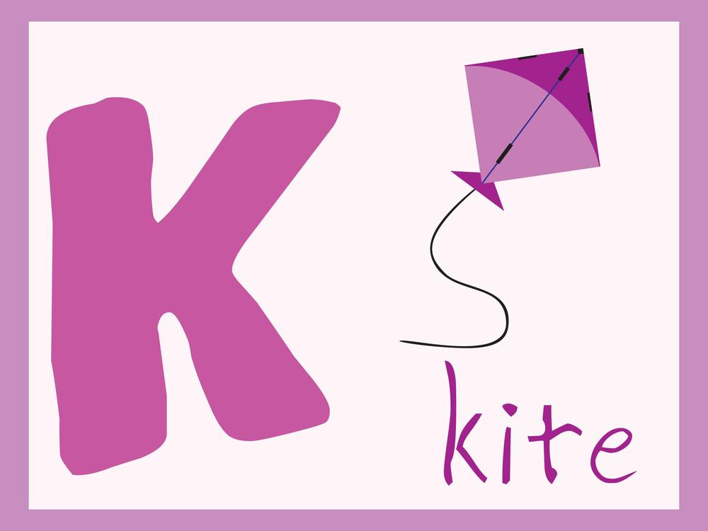 Alphabet Series K