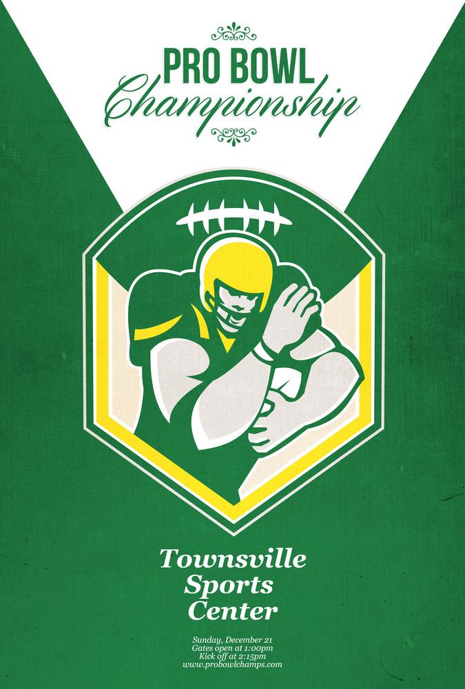 American Gridiron Pro Championship Poster