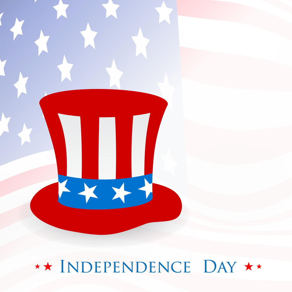 American Independence Day Celebrations Concept