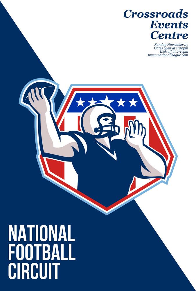 American National Football Circuit Poster