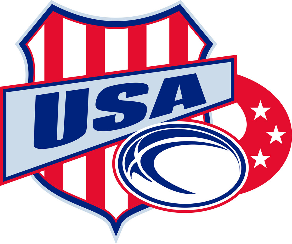 American Rugby Ball Shield Usa