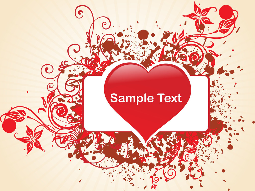 Amour Love Heart Background