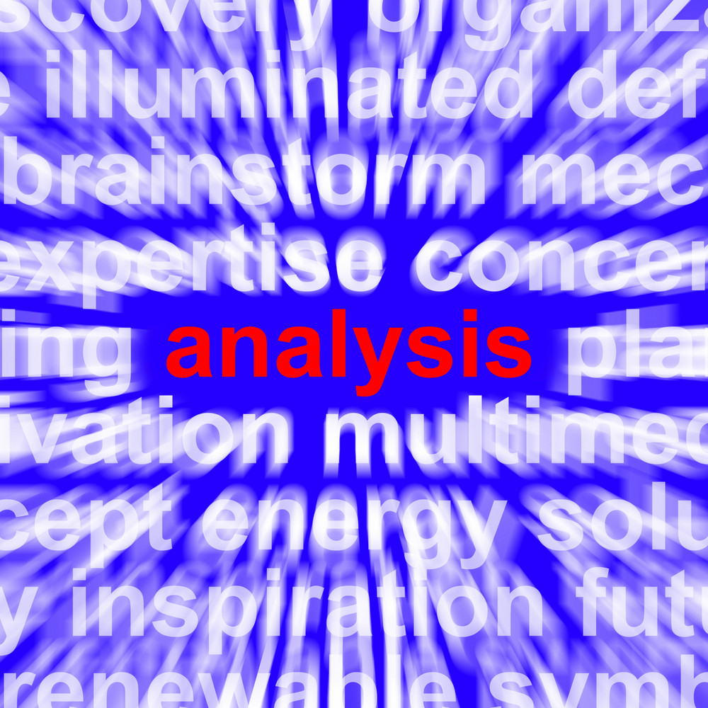 Analysis Word Showing Checking Probing And Examining