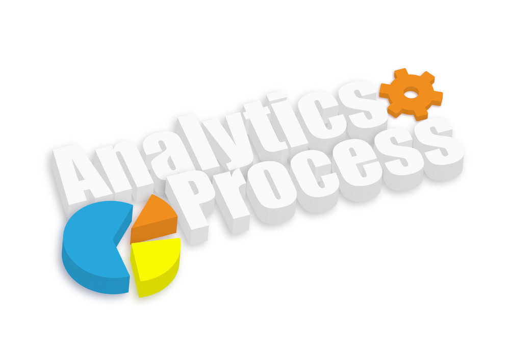 Analytics Business Pie Chart Process