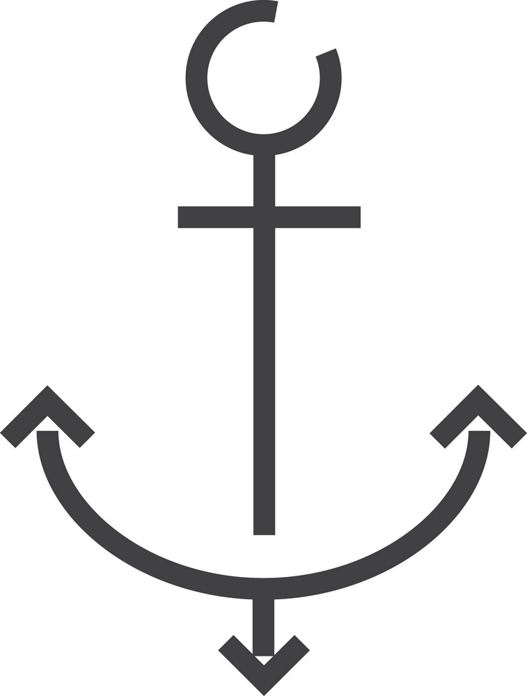 Anchor Minimal Icon
