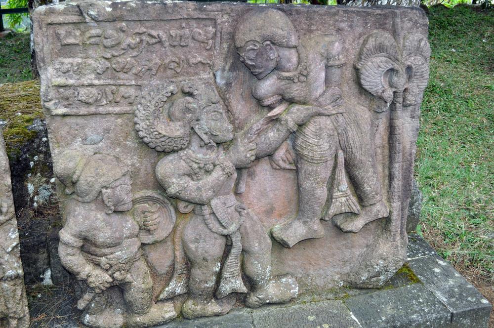 Ancient Erotic Temple Candi Sukuh
