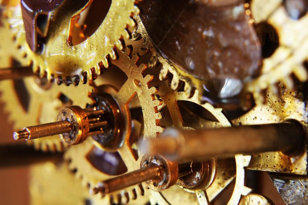 Ancient Mechanical Gears