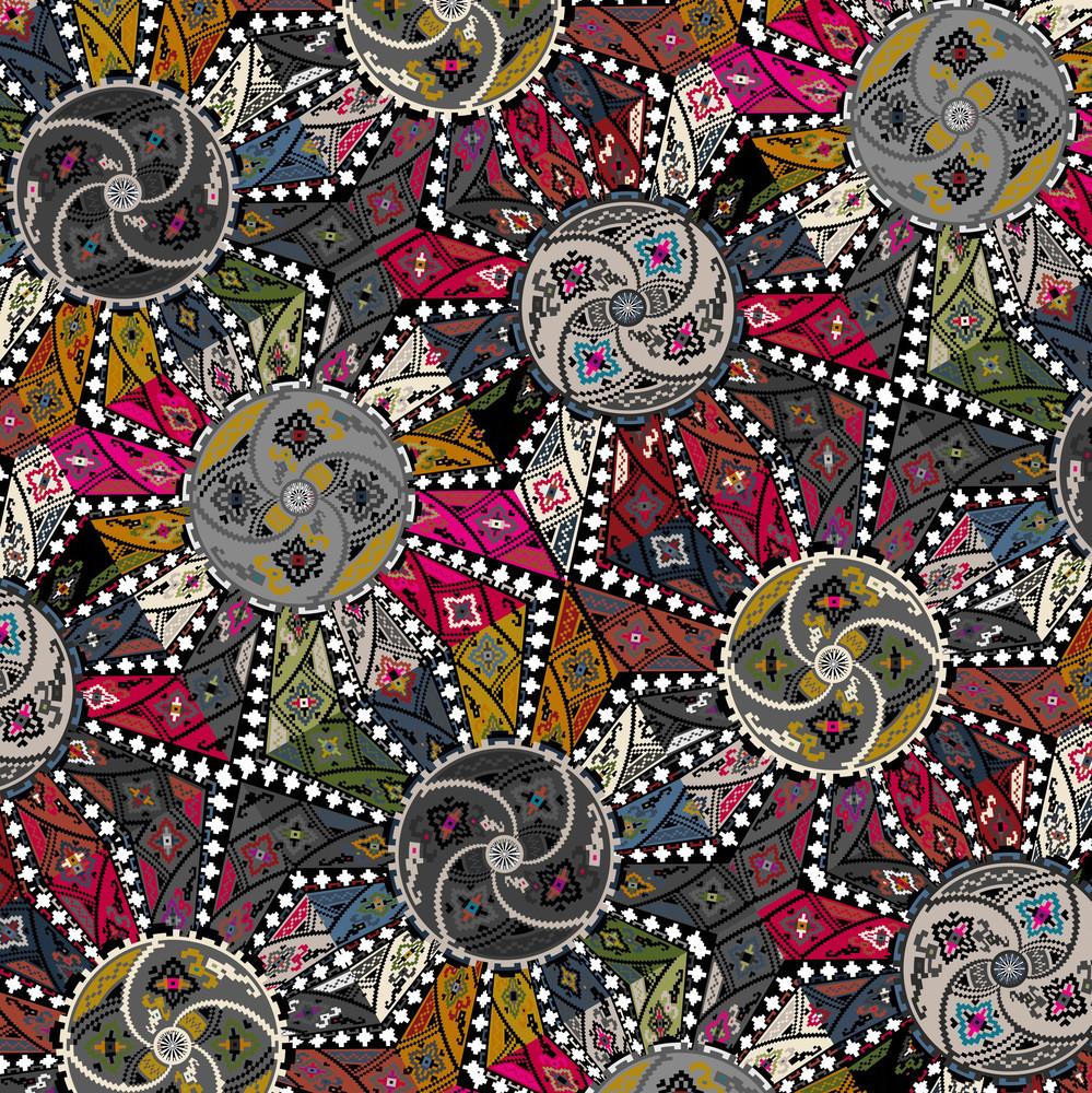 Ancient Pattern. Vector Illustration