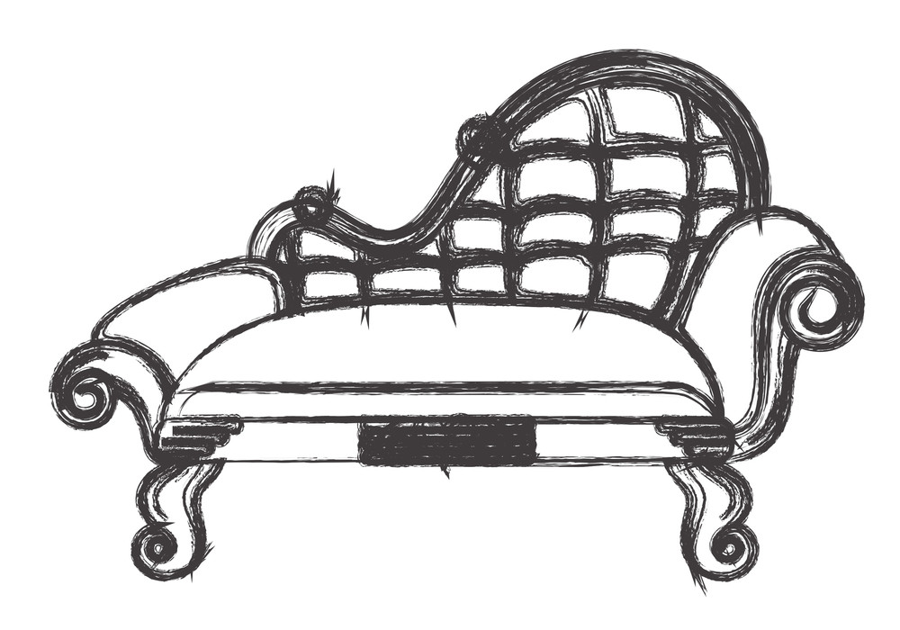 Miraculous Ancient Sofa Drawing Royalty Free Stock Image Storyblocks Pdpeps Interior Chair Design Pdpepsorg