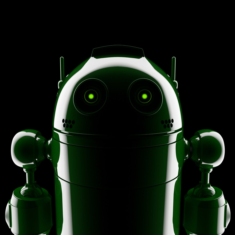 Android Silhouette