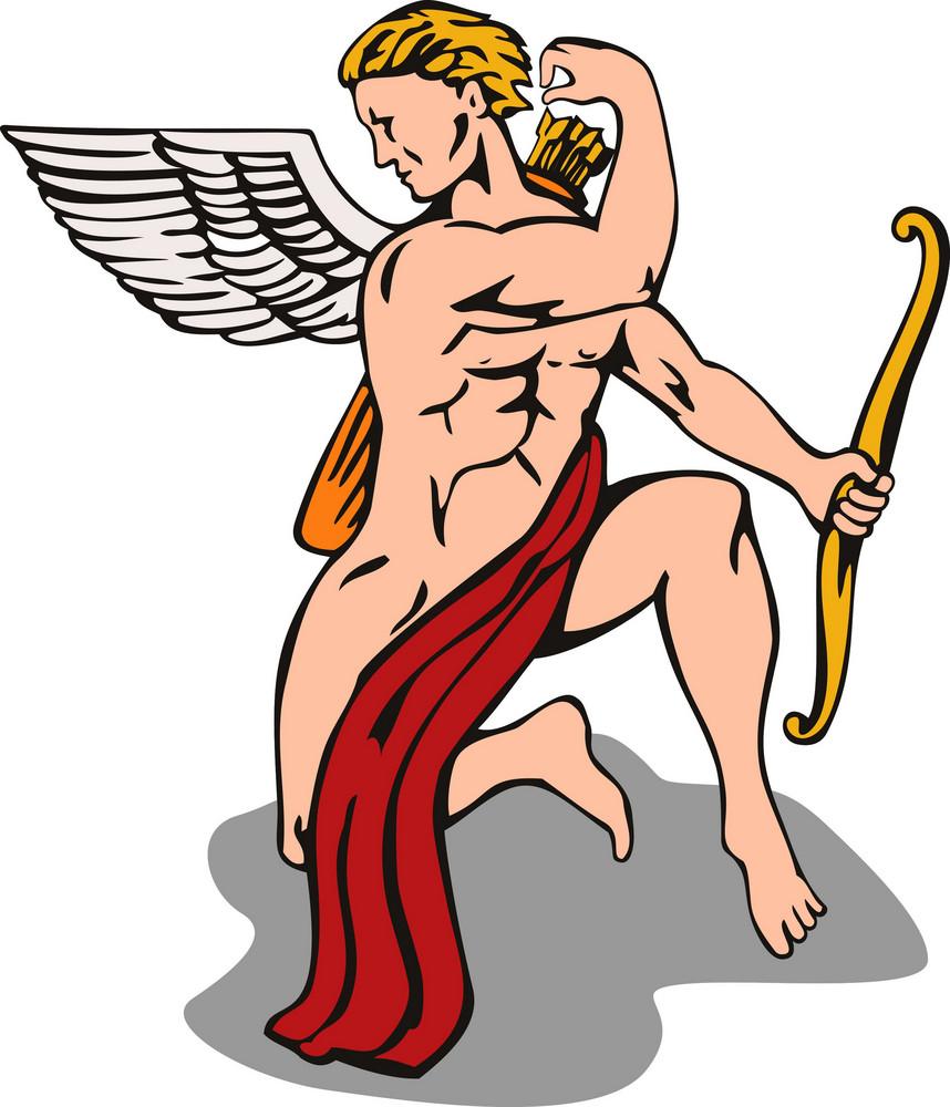 Angel Cupid Bow