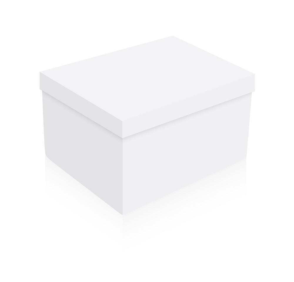 Anniversary Gift Box Vector