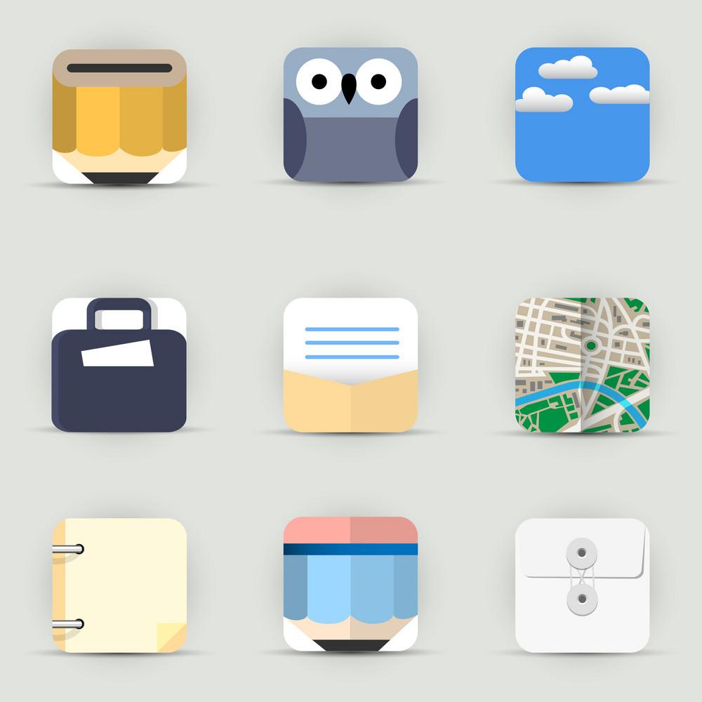 App Icons Vector Set