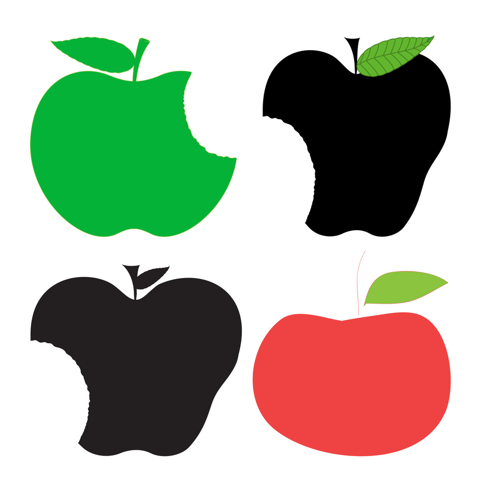 Apples Shapes Clipart