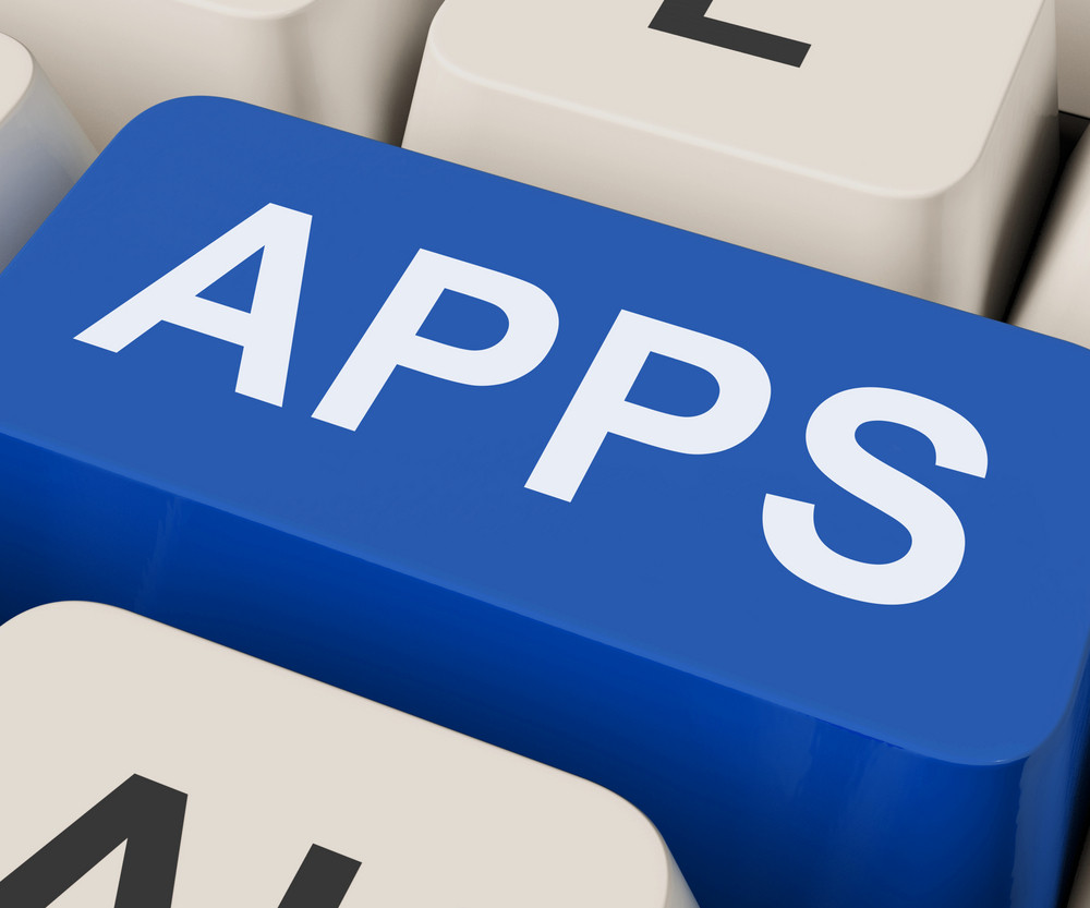 Apps Keys Shows Internet Application Or App