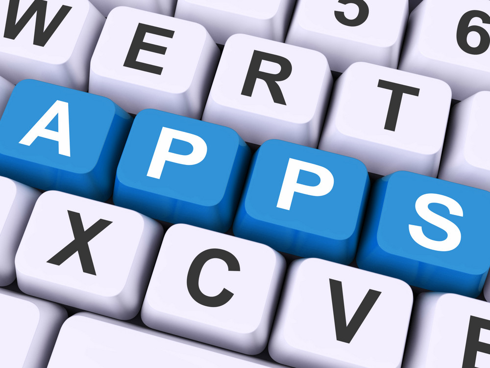 Apps Keys Shows Web Application Or Applications